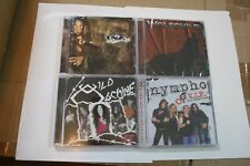4 CD LOT SALE,  ALL BRAND NEW CDS - HARD ROCK & GLAM BANDS