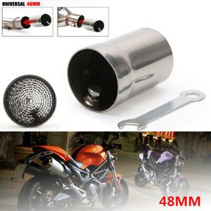 48mm Motorcycle Bikes Exhaust Pipe DB Killer Silencer Muffler Baffle Kit Steel