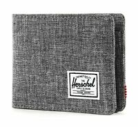 Herschel Purse RFID Wallet Raven Crosshatch