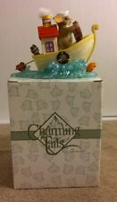 """Fitz & Floyd Charming """"You Tug at My Heart"""" 82/126. New Opened Box. Retired."""