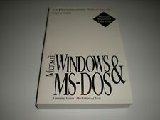 Microsoft MS-Dos 6.22  & Windows 3.1 user's guide only.  No disks. No license.