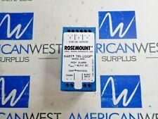 ROSEMOUNT 333U HART TRI-LOOP HIGH ALARM V-MAX=42.4V DC