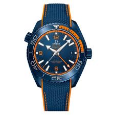 Omega Seamaster Planet Ocean Master Chronometer Big Blue-Unworn W/Box&Papers