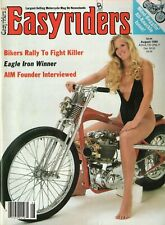 1986 August Easyriders - Vintage Motorcycle Magazine with David Mann Poster