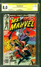 Ms. Marvel 22 CGC 2XSS 8.0 Mike Zeck Chris Claremont Deathbird Avengers 1979