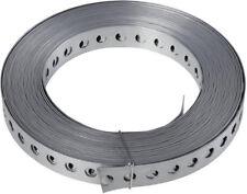 0,68€//m10m Montagelochband 14mm Kunftstoffmantel Fixpin Nagelband Montageband