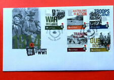 Australia First Day Cover FDC - 2014 Centenary of WW1