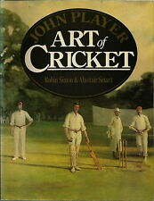THE ART OF CRICKET BY SIMON & SMART 1983 1ST EDITION CRICKET IN ART BOOK