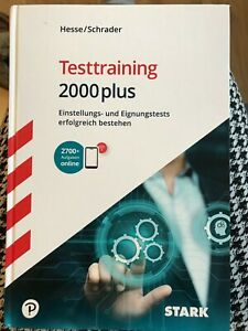 STARK Testtraining 2000plus von Jürgen Hesse (2019, Mixed media product)