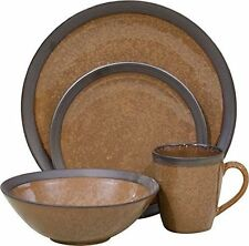 banded stoneware dinnerware u0026 serving dishes - Stoneware Dishes