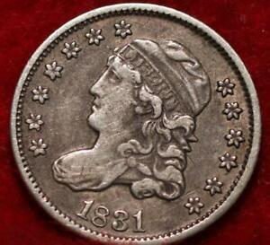 1831 Philadelphia Mint Silver Capped Bust Half Dime