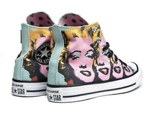 Converse All Star Marilyn Monroe Polka Dot Pink [Product Customized]