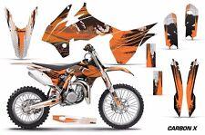 AMR Racing Graphics Kit KTM SX 85 Bike Decal Wrap Sticker Part 13-15 CARBON X O
