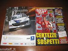AUTOSPRINT 2009/37=GP F1 ITALIA=BARRICHELLO=SPECIALE WTCC IMOLA=ANT Mclaren MP4