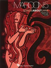 Maroon 5 Songs About Jane Sheet Music Piano Vocal Guitar Songbook NEW 000306642