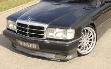 Rieger Frontspoilerlippe für Mercedes Benz 190 W201 ab Baujahr 1988 nicht 16V