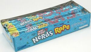 Nerds Rope Very Berry Soft Chewy Candy Gummy Tangy Nerd Ropes Bulk  24 Count Box