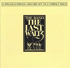 THE BAND: THE LAST WALTZ CD! 1988 WARNER REMASTER 3146-2! 2 CDS FATCASE! MINT