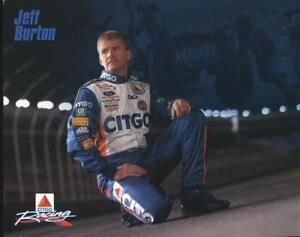 2003 Jeff Burton Citgo Ford Taurus NASCAR postcard