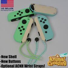 Nintendo Switch Joy Cons Animal Crossing Theme Joy-Con Pair Brand New Shell