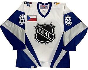CCM M NHL Jagr All Star Game Hockey Jersey 1998 Vintage Pittsburgh Penguins