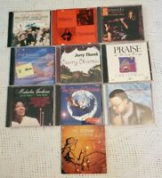 Mixed Lot Of 10 Christmas CDs Various Artists, Kenny G, 101 Strings, Bing Crosby