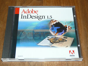 Adobe InDesign 1.5 deutsche Vollversion für Mac