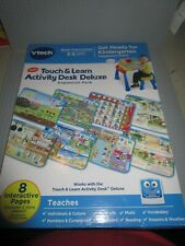 VTECH TOUCH & LEARN ACTIVITY DESK DELUXE EXPANSION PACK-GET READY FOR KINDERGART