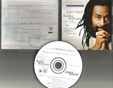 BOBBY McFERRIN Paper music 1995 RARE 4TRK Sampler PROMO Radio DJ CD single USA