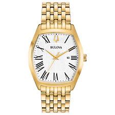 8ad44daa8151c Bulova Women s Classic Ambassador Quartz Gold-Tone 31.5mm Watch 97M116