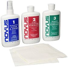 NOVUS 7100 Plastic Polish Kit - 8 oz., Free Shipping, New