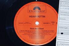 Heavy Pettin-Rock Ain 't Dead-LP 1985 POLYDOR archivio-copy MINT