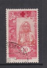 Fr. Somali Coast - SG 167 - f/u - 1915 - 10c + 5c Red Cross