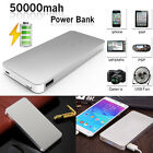 50000mah Power Bank Portable Battery 2usb Charger for iPad iPhone Samsung Mobile