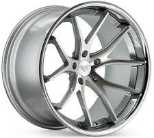 20x11.5 Ferrada FR2 5x114 ET30 Machine Silver Wheels (Set of 4)