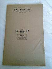 Antique Vintage S.O Writing Book~Original V.B LTD ~Illustrating a crown ~c1940's