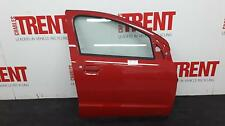 2012 NISSAN PIXO 5 Door Hatchback Red O/S Drivers Right Front Door