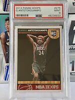 2013-14 Giannis Antetokounmpo Panini NBA Hoops Rookie #275 PSA 9 Bucks MVP