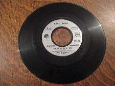 45 tours Kate Bush - The ran-tan waltz (sans pochette)