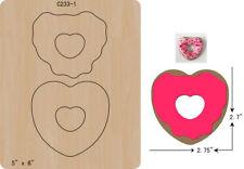 New Donut Felt Wooden die Cutting Dies  fit Big Shot  Scrapbooking C-233-1