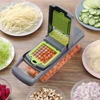 8 In1 Food Vegetable Salad Fruit Peeler Cutter Slicer Dicer Chopper Kitchen Tool