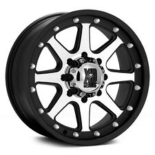 XD Addict 20x9  Black & Machined Wheels 8x6.5