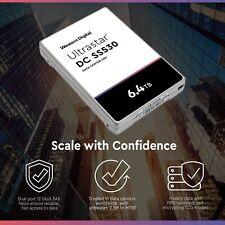 """HPE / WD MO006400JWUGB 6.40 TB SSD 2.5"""" - SAS 12Gb/S  ES"""