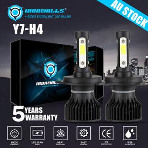 For Mazda BT-50 BT50 2006-2011 4-side H4 Headlight Globe High low beam LED bulb