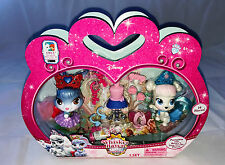 DISNEY PRINCESS PALACE PETS WHISKER HAVEN ZUCCA & Berry's figura Twin Pack