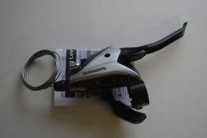 Shimano ST-EF65 Brems-/Schalthebelkombination 9 fach silber rechte Seite