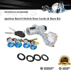New Ignition Barrel Switch Door Locks + Barn Kit For Nissan Patrol GQ Y60 88-98