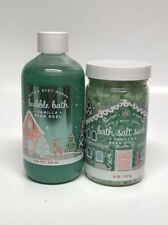 Bath & Body Works Vanilla Bean Noel Bubble Bath & Salt Set