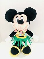 "VTG Walt Disney Company Minnie Mouse Hawaii Hula Hawaiian  17"" Doll Plush"