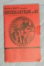 Vintage NELSON HALLS FAMOUS SUCCESS CATALOG Book Booklet NO 82 DATED 1942